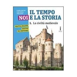 tempo-noi-e-la-storia--il--corso-di-storia--cittadinanza-e-costituzione-edizione--plus-dvd-vol-1