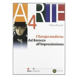 ARTE 4  EUROPA MODERNA