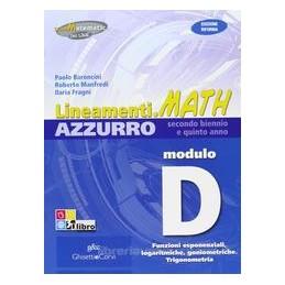 LINEAMENTI.MATH AZZURRO D