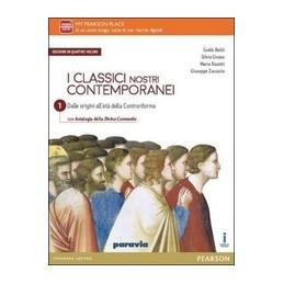 classici-nostri-contemporanei-ed--quattro-vol--1--div-comm--ed-mylab--vol-1