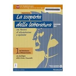 scoperta-della-letteratura-1-ed-blu-con-divina-commedia--vol-1