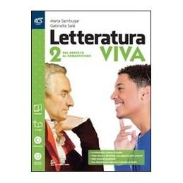 letteratura-viva-classe-2--libro-misto-con-openbook-dal-barocco-al-romanticismo--extrakit--openbo