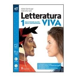 letteratura-viva-classe-1--libro-misto-con-openbook-dalle-origini-alleta-della-controriforma--qu