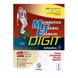 matematica-teoria-esercizi-digit-aritmetica-b-con-dvdmi-prepper-interrogquadcomp2quadop2-vo