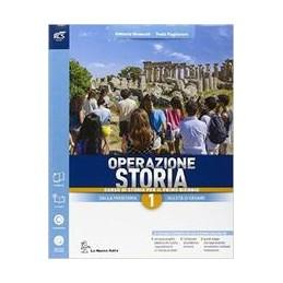 operazione-storia-classe-1--libro-misto-con-openbook-volume-1--atlante-ieri-e-oggi--extrakit--op