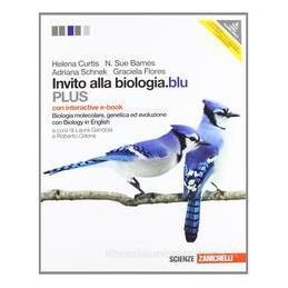INVITO ALLA BIOLOGIA BLU MOLECOL.PLUS+EB