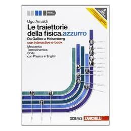 TRAIETTORIE DELLA FISICA AZZURRO 1+EBOOK