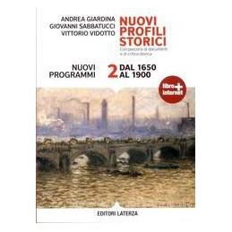 NUOVI PROFILI STORICI  2  1650 1900