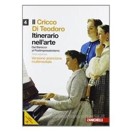 IL CRICCO DI TEODORO 4 ED.ARANCIONE +DVD
