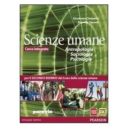 SCIENZE UMANE  ANTROPOL.SOCIOL.PSIC.X3,4
