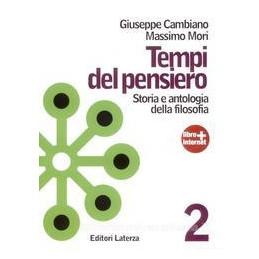 TEMPI DEL PENSIERO 2  ETÀ MODERNA