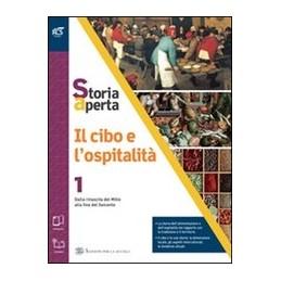 CIBO-LOSPITALITA-CLASSE-LIBRO-MISTO-CON-OPENBOOK-VOLUME--EXTRAKIT--OPENBOOK-Vol