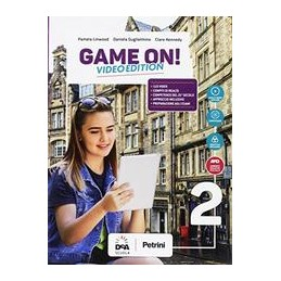 game-on--video-edition-volume-2-students-book--orkbook--ebook--maps-2--easy-ebook-su-dvd