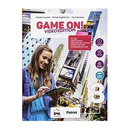 game-on--video-edition-volume-3-students-book--orkbook--ebook--maps-3--easy-ebook-su-dvd