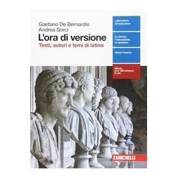 ora-di-versione-l--volume-unico-ld-testi-autori-e-temi-di-latino-vol-u