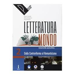 letteraturamondo-vol-2-edizione-azzurra-vol-2