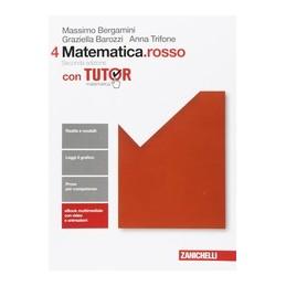 matematicarosso-2ed--volume-4-con-tutor-ldm--vol-2