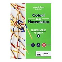 colori-della-matematica--edizione-verde-algebra-1--quaderno-algebra-1ebook--vol-1