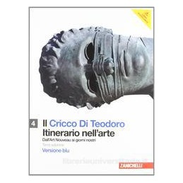 IL CRICCO DI TEODORO 4 EDIZ.BLU