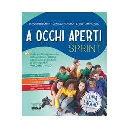 a-occhi-aperti-sprint-quaderno--dvd-con-materiale-per-la-lim-volume-unico-vol-u