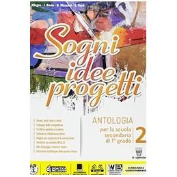 sogni-idee-progetti-2-plus--letteratura--vol-2