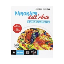 panorami-dellarte-volume-edizione-compatta--easy-ebook-su-dvd--ebook-laboratorio-delle-competen