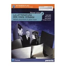 la-letteratura-ieri-oggi-domani--3--edizione-in-volume-unico--vol-3