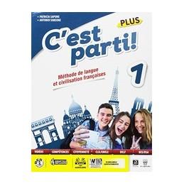 cest-parti-1-plus--libro-digitale--vol-1