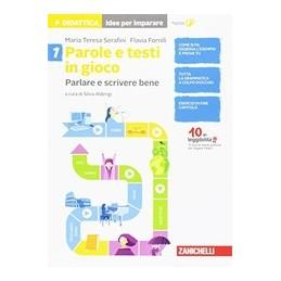 PAROLE-TESTI-GIOCO-IDEE-PER-IMPARARE-VOLUME-PARLARE-SCRIVERE-BENE-Vol