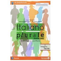 italiano-plurale--edizione-verde-con-imparafacile-grammatica-e-scrittura-vol-u