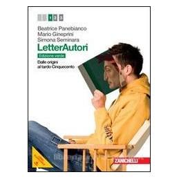 LETTERAUTORI EDIZ.VERDE 1 +PDF
