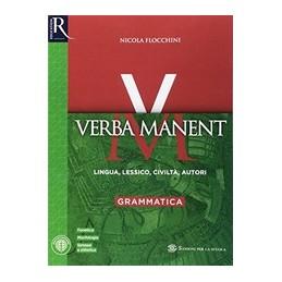 verba-manent--libro-misto-con-hub-libro-young-gramhub-libro-younghub-kit-vol-1
