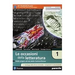 le-occasioni-della-letteratura-1--edizione-con-antologia-della-divina-commed-dalle-origini-alleta