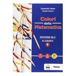 colori-della-matematica--edizione-blu-algebra-1--quaderno-algebra-1--ebook--vol-1