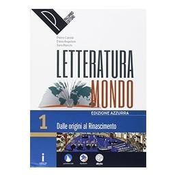 letteraturamondo-vol-1-pack-edizione-azzurra-vol-1