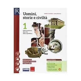 uomini-storie-e-civilta-1--libro-misto-con-hub-libro-young-vol-1saperi-di-basehub-libro-youngh