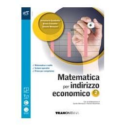 matematica-per-indirizzo-economico--libro-misto-con-openbook-vol-2--quaderno-turistico--extrakit
