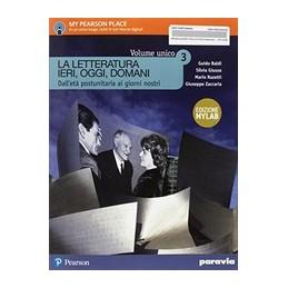 la-letteratura-ieri-oggi-domani--3--edizione-in-volume-unico-edizione-myla--vol-3