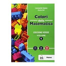colori-della-matematica--edizione-verde-volume-1--quaderno-1--ebook--vol-1