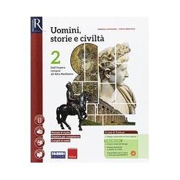 uomini-storie-e-civilta-2--libro-misto-con-hub-libro-young-vol-2saperi-di-basehub-libro-youngh
