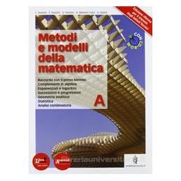 METODI E MODELLI DELLA MATEMATICA A +CDR