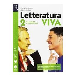letteratura-viva-classe-2--alimentazione-ospitalitalibro-misto-con-openbook-dal-barocco-al-romanti