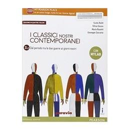 classici-nostri-contemporanei-ed--in-quattro-volumi-32-edizione-mylab--vol-3