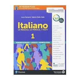 italiano--volumi-separati--morfologia-e-lessico--vol-u