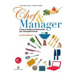 CHEF & MANAGER +VISUAL DICTIONARY