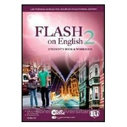 FLASH ON ENGLISH 2 +CD 2 +FLIP BOOK 2