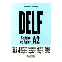 delf-a2-scolaire-et-junior-nuova-edizione-livre--dvdrom