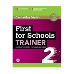 first-for-schools-trainer-2nd-ed-level-b2-practice-tests-2-ithout-ansers-ith-donloadable-audio