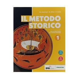 metodo-storico-il--volume-1--ebook-dalla-preistoria-allimpero-romano