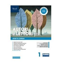 autori-e-lettori-piu--libro-misto-con-hub-libro-young-vol-1--quad--acc-e-prove-ingresso--cit